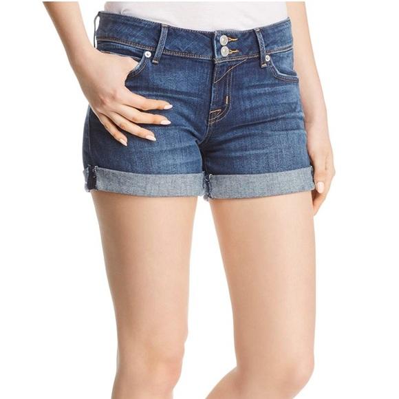 1dc60f86dd8 Hudson Jeans Shorts | Croxley Midthigh Denim Short | Poshmark